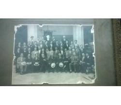 Antica fotografia anni '20 appartenuta a famiglia di notai siciliani