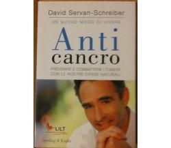 Anticancro - Servan-schreiber - Sperling & Kupfer,2008 - R