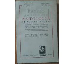 Antologia di Autori Latini - Grassi, Nardi -Edizioni Scolastiche De Carlo,1950-R
