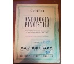 Antologia pianistica - G. Piccioli - Curci - 1981    - M