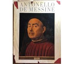 Antonello De Messine di Stefano Bottari,  1955,  Silvana Editoriale D'Arte Milan