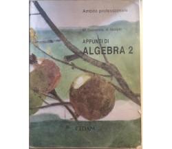 Appunti di algebra 2 di AA.VV., 2002, CEDAM