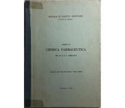 Appunti di chimica farmaceutica per gli AUC farmacisti di Cap. Chim. Farm. Paolo