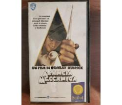 Arancia meccanica - S. Kubrick - Warner Home Video - 1971 - VHS - AR