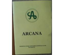 Arcana - AA.VV. -  Similia,2010 - R