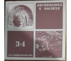 Archeologia e società - AA.VV. -  Lanuvium,1976 - A