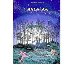 Area 666 di Andrea Romoli,  2018,  Youcanprint