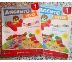 Argento Vivo 2 vol. Metodo e prime letture ,letture antologia riflessione -F