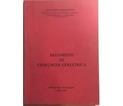 Argomenti di chirurgia geriatrica di Antonino Giovinetto, 1989, Marchese Giusepp