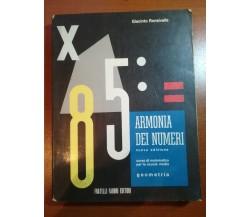 Armonia dei numeri - Giacinto Ronsivalle - Fabbri - 1967 - M