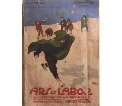 Ars et Labor vol.I anno 62 di Aa.vv., 1907, G.ricordi E C.