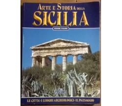 Arte e storia della Sicilia - A.A. V.V. - Bonechi, 1999 - L