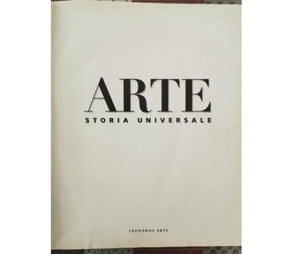 Arte: storia universale (Leonardo Arte 1997) - ER