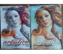 Artistica Vol.1e2-Dorfles,Dalla Costa,Ragazzi-Atlas,2000-R