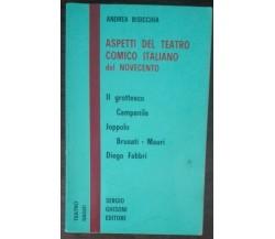 Aspetti del teatro comico italiano del novecento - Bisicchia - Ghisoni,1973 - A