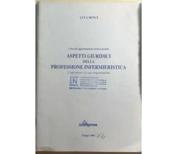 Aspetti giuridici della professione infermieristica di Luca Benci,  2000,  Cedip
