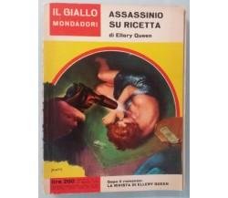 Assassinio su ricetta - Ellery Queen - Mondadori - 1964 - G