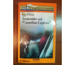 Assassinio sul Canadian-Express - Piemme - 1993 - M