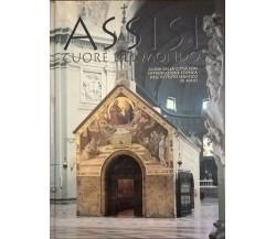 Assisi cuore del mondo Guida della città con introduzione storica 1991 Ca
