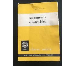 Astronomia e Astrofisica - Giorgio Abetti,  1960,  Eri - P
