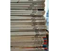 Atlante de Agostini (Rivista): 57 numeri dal 1967 al 1974 - ER
