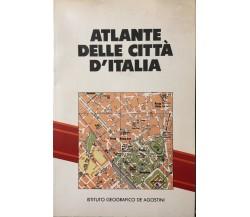 Atlante delle città d'Italia di DeAgostini, 1988, Parker-Davis