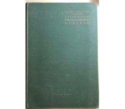 Atlante geografico a corredo del Dizionario enciclopedico moderno di Aa.vv., Edi