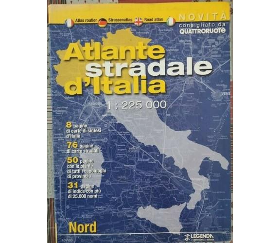 Atlante stradale d'Italia - IL NORD - 1:225 000 - ER