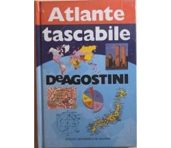 Atlante tascabile DeAgostini di Aa.vv., 1992, Istituto Geografico Deagostini