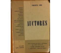 Auctores - Comi - Edizioni Remo Sandron,1960 - R