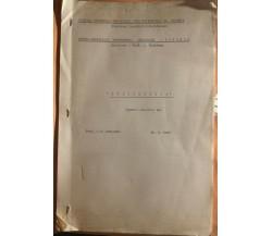 Audiometria APPUNTI di Prof. G.b. Catalano-dr. D. Raso,  1964,  Scuola Magistral