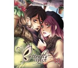 BUTTERFLY EFFECT volume 10 di Giulia Della Ciana (autore),  2020,  Manga Senpai