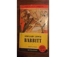 Babbitt - Sinclair Lewis,  1957,  Mondadori - P
