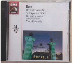 Bach, Orchestersuiten no.1-3di Johann Bach, 1990, Emi Drive