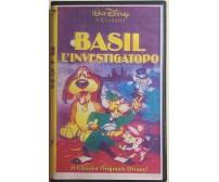 Basil l'investigatopo VHS di Aa.vv.,  1986,  Walt Disney