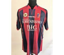 Bassoli Bologna 100 anni. Maglia preparata match issued 2010-2011