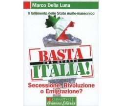 Basta con questa Italia. Secessione, rivoluzione o emigrazione? di Marco Della L