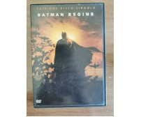 Batman begins DVD - C. Nolan - Warner Bros - 2005 - AR