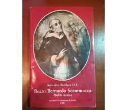Beato Bernardo Scammacca -A.Barilaro - Prov.Domenicana Sicilia - 1980 - M