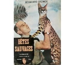 Betes Sauvages, Bernhard Gazimek,  1955 - ER