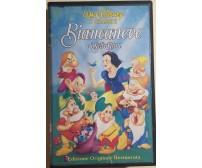 Biancaneve e i Sette nani VHS di Aa.vv.,  1937,  Walt Disney