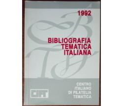 Bibliografia telematica italiana - Gianni Bertolini - Cift,1992 - A