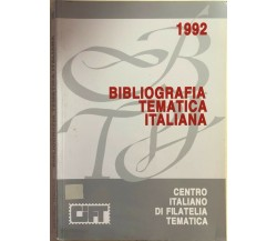 Bibliografia tematica italiana 1992 di Gianni Bertolini, 1992, Gift