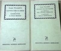 Biblioteca Moderna Mondadori 2 Volumi - Luigi Pirandello (1959) Ca