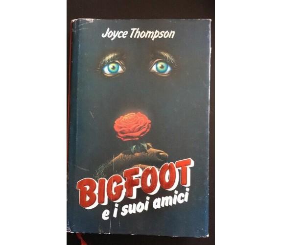 BigFoot e i suoi amici- Joyce Thompson,  1988,  Euroclub - P