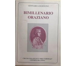 Bimillenario Oraziano di Gennaro Angiolino, 1993, Circolo Filatelico Tres Tabern