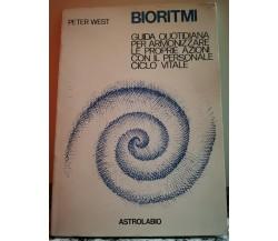 Bioritmi di Peter West,  1980,  Astrolabio-F
