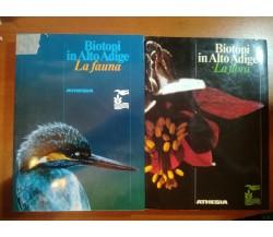 Biotopi in Alto Adige Flora e Fauna - AA.VV. - Athesia - 1984 - M