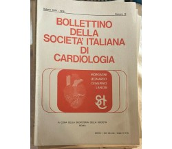 Bollettino della società italiana di cardiologia 53 numeri di Aa.vv.,  1975,