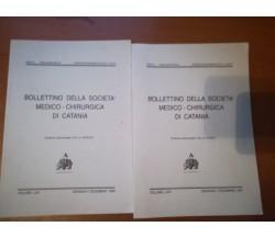 Bollettino della società medico-chirurgica di catania - Prof.G.Veroux- 1996  - M